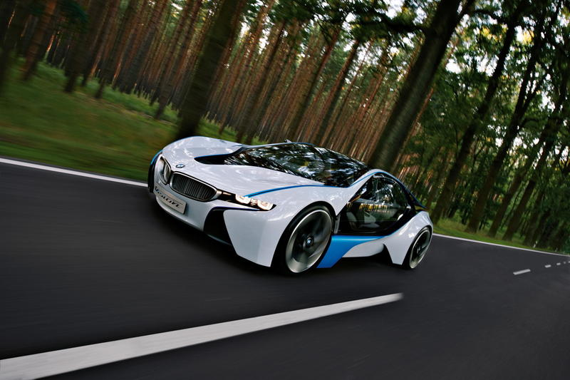 Wallpaper Mobil Sports BMW Vision Efficient Dynamics Concept