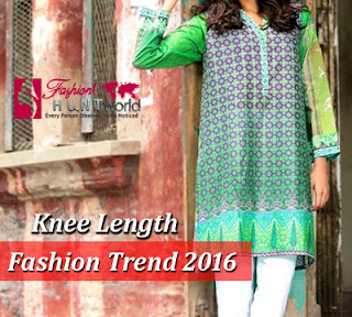 Knee-Length Shirts Fashion Trend 2016 For Women