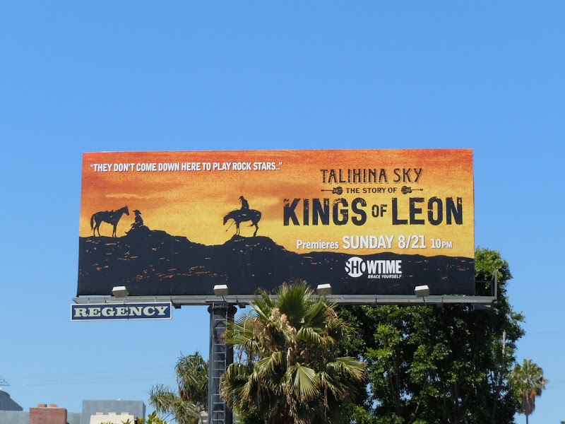 Kings of Leon Talihina Sky billboard