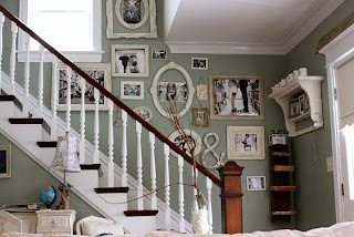 Ideas for decorating stairwells