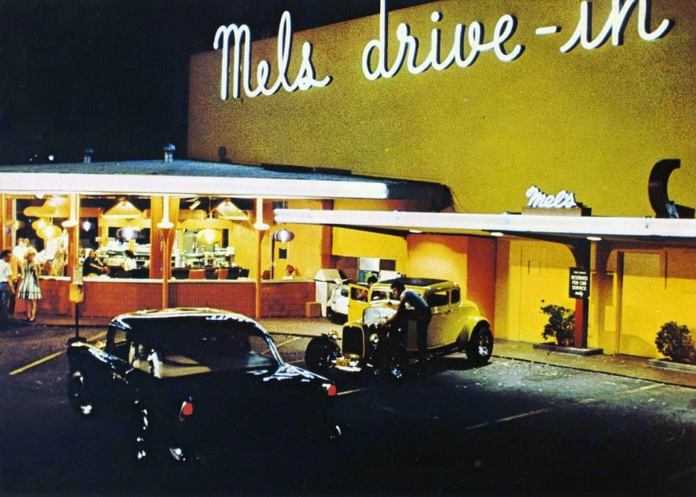 american graffiti American graffiti is a 1973 film about a group of high school grads who spend one final night cruising the strip with their buddies before they go off to college.