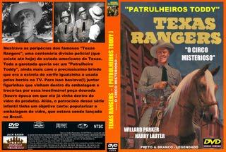 TEXAS RANGERS (PATRULHEIROS TODDY) -  O CIRCO MISTERIOSO
