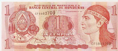 billete-de-un-lempira-honduras-currency