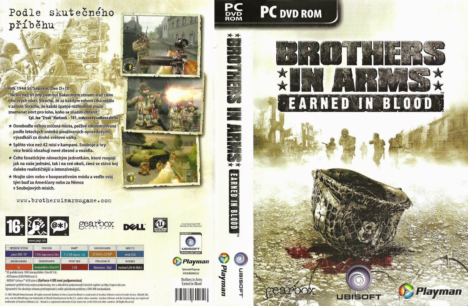 Brothers in Arms : Earned in Blood sur PC