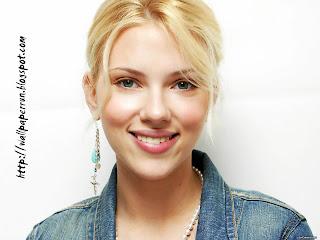 Scarett Johansson Cute Girl