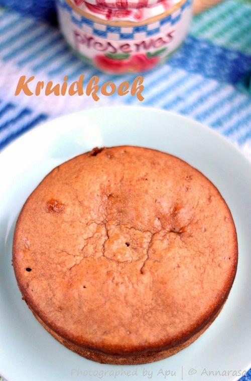 Daring Bakers December 2014: Dutch Sweet Bread (Kruidkoek)