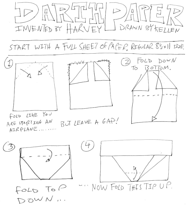 cover origami yoda instructions