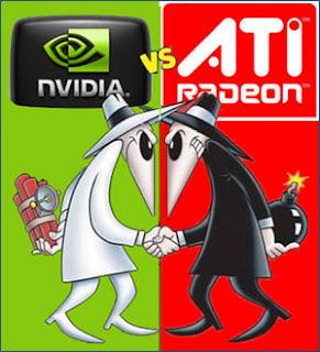 VGA Nvidia dan Ati Rhodeon