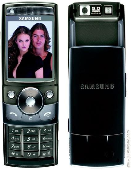 Samsung G600 Flash Files
