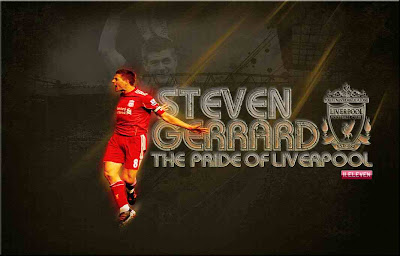 Steven Gerrard The Pride Of Liverpool Wallpaper