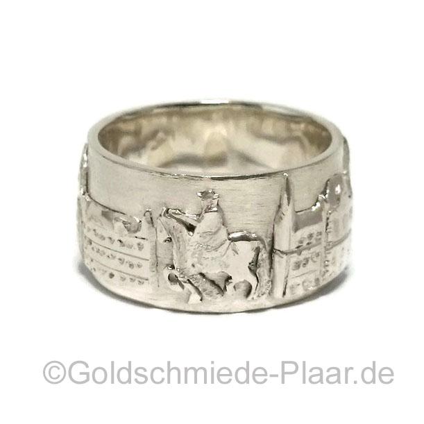 Oldenburger Stadtring in Silber