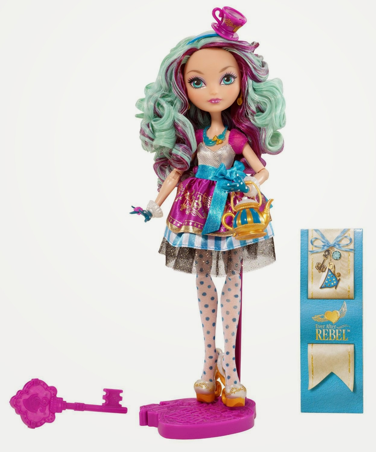 TOYS: Madeline Hatter : Ever After High | DOLL | MUÑECA