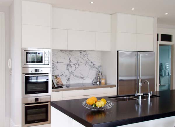 Kitchen Marble Splashbacks The Kitchen Design