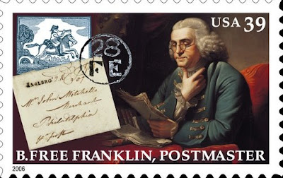 Benjamin Franklin, postmaster general