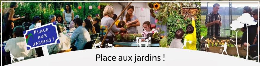 Bienvenue à Place aux jardins