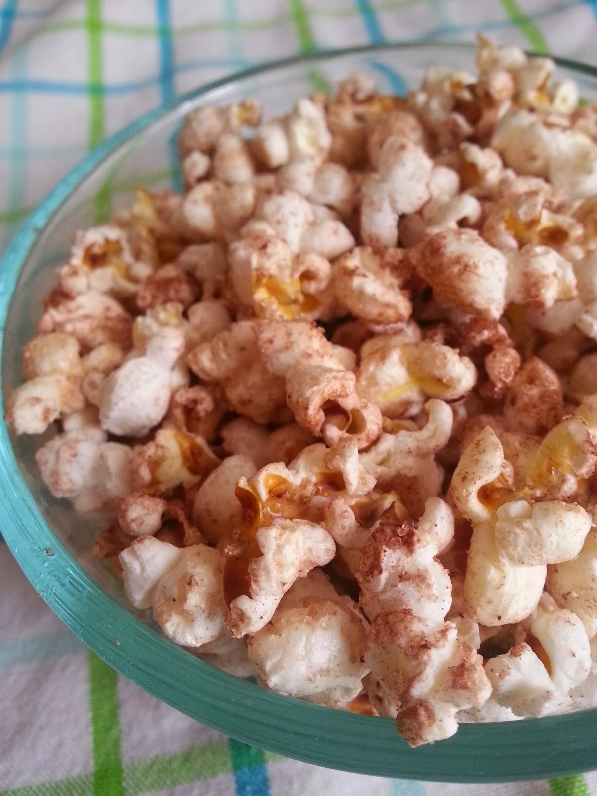 Dairy-free chocolate popcorn