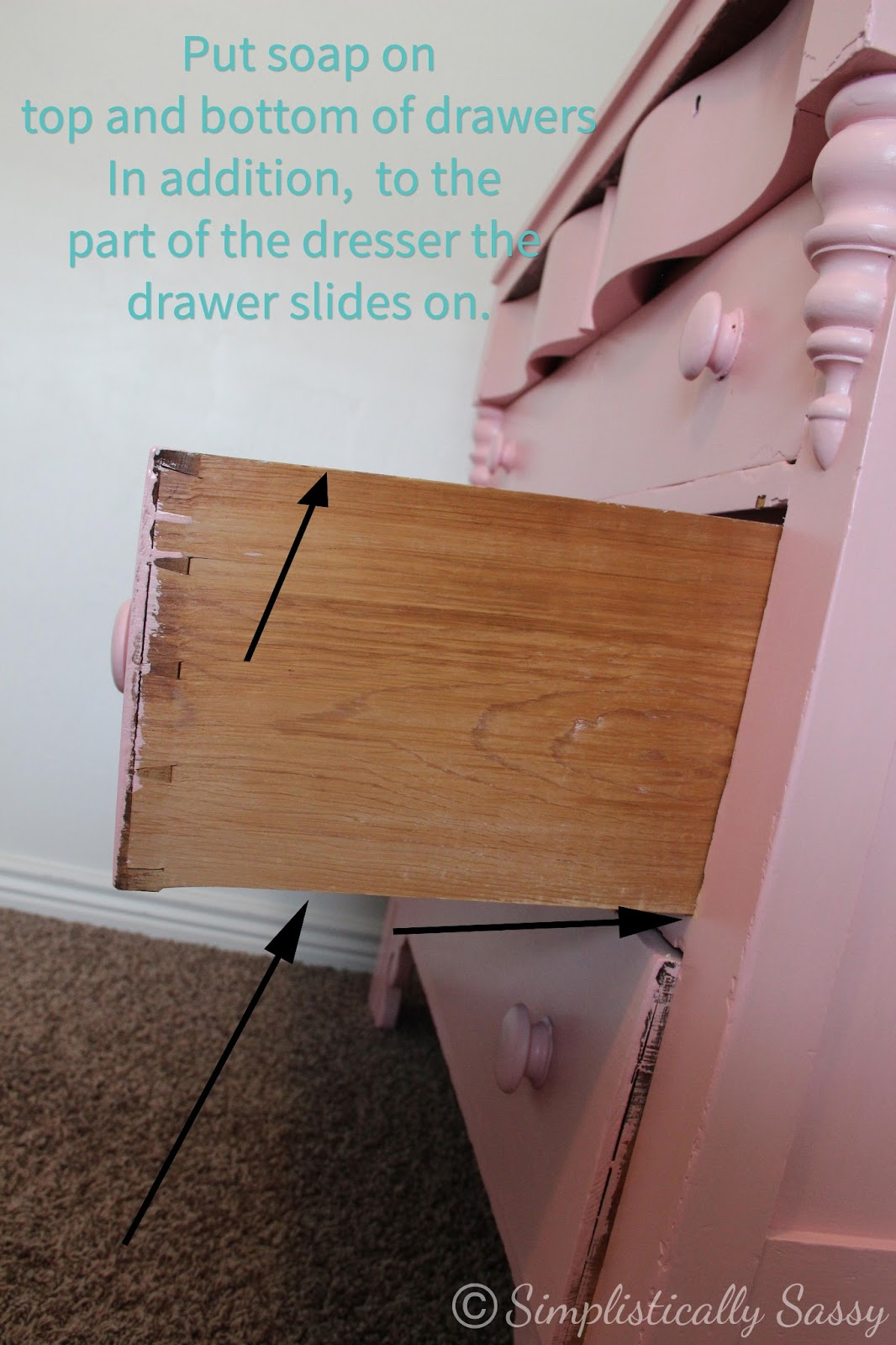 How to make dresser drawers - How To Make Dresser Drawers Slide Easily