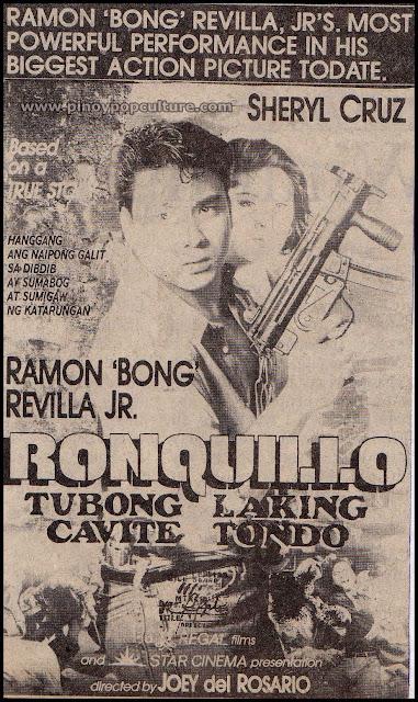 Ronquillo, Tubong Cavite Laking Tondo, Star Cinema