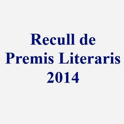 Recull de Premis Literaris 2014