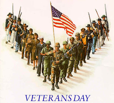Free Veterans Day PowerPoint Background 4