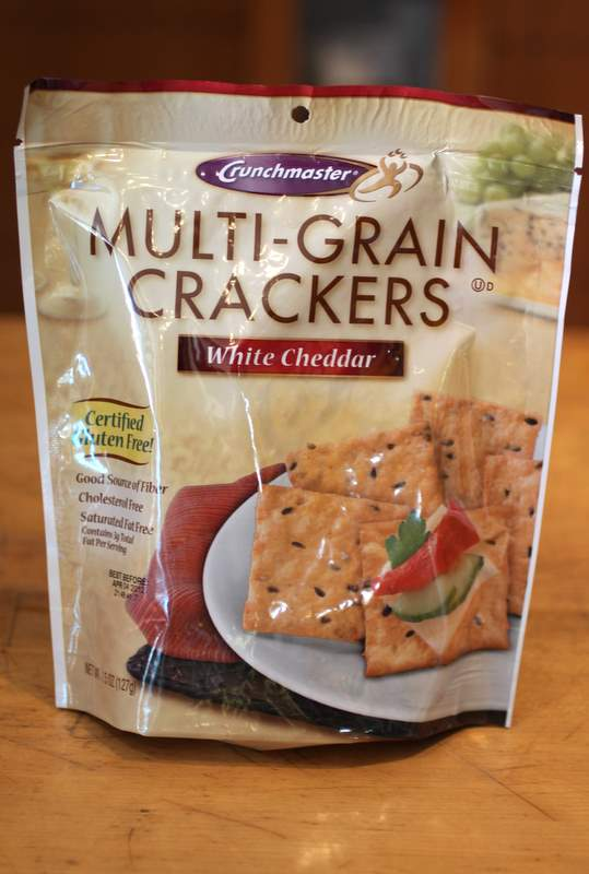 Gluten Free Crackers: Crunchmaster White Cheddar Multi-Grain Crackers