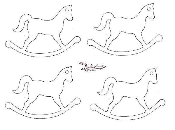 Horse Christmas Gift Tags Printable