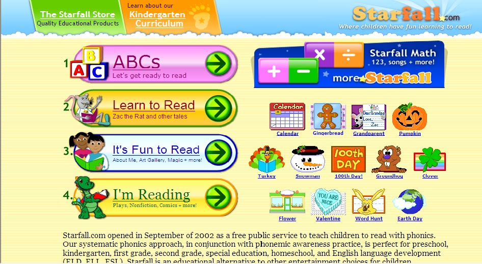Starfall+Calendar2012 Starfall Image Search Results Picture