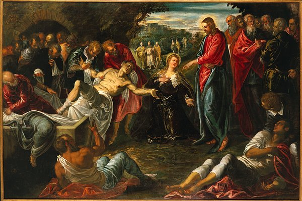 Image result for  Jesus Raised Lazarus From The Dead