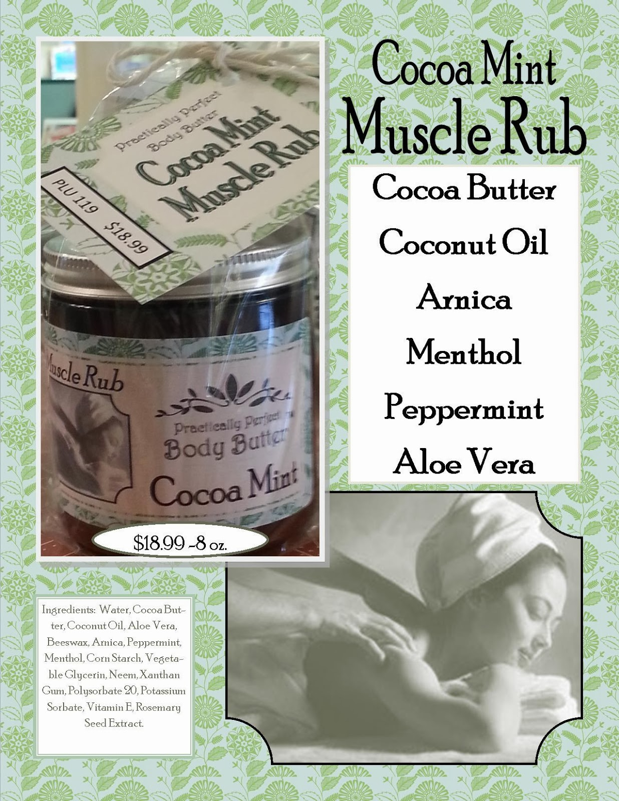 Cocoa Mint Muscle Rub