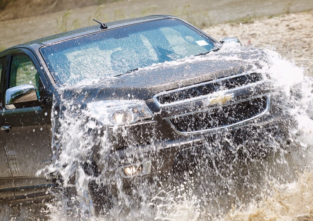 Five Water Intrusion Tests Endured by the 2015 Chevy Colorado
