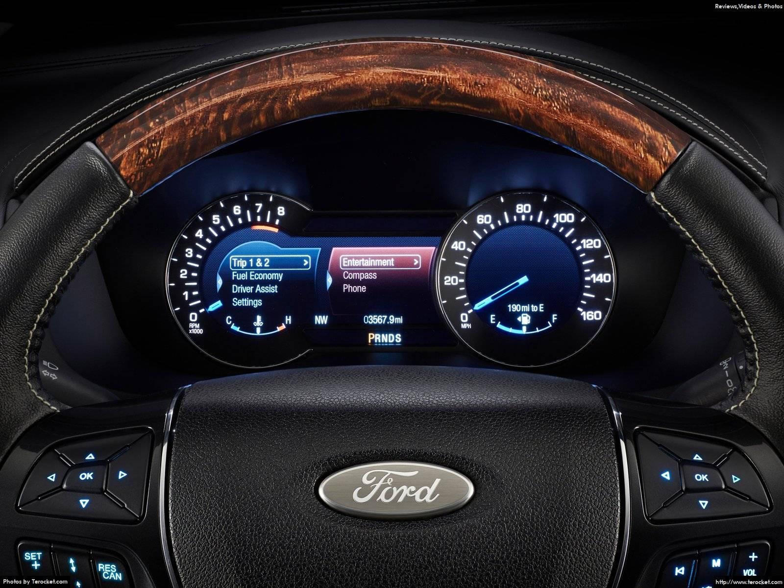 Hình ảnh xe ô tô Ford Explorer 2016 & nội ngoại thất