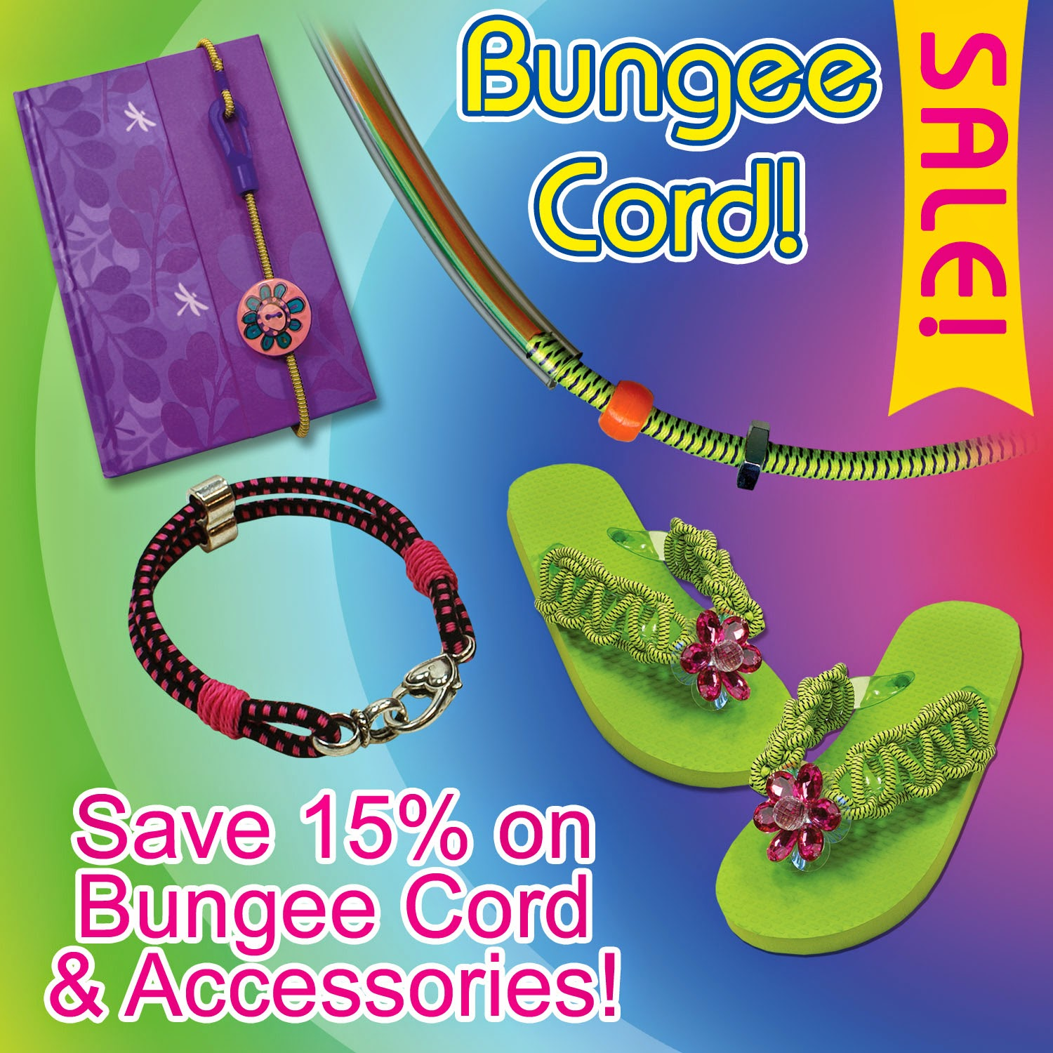 Bungee Cord and Accessory Sale - Expires Sunday, Aug. 31st, 2014