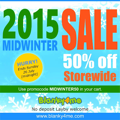 Use promocode MIDWINTER50