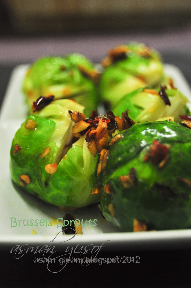 Asam Garam: BRUSSEL SPROUT with Butter