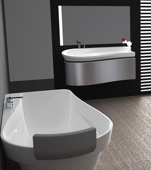 Juegos de baño modernos ~ dikidu.com