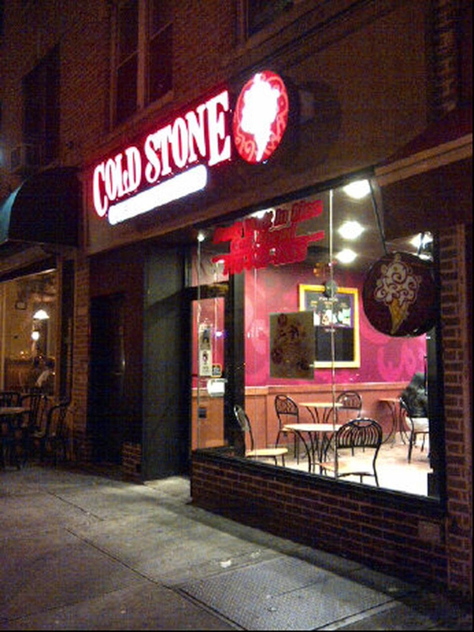Cold Stone Creamery Bay Ridge Storefront