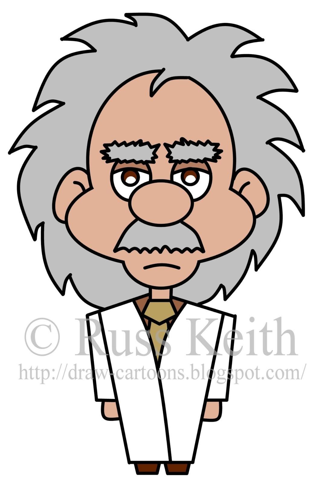 How To Draw Cartoons: Einstein