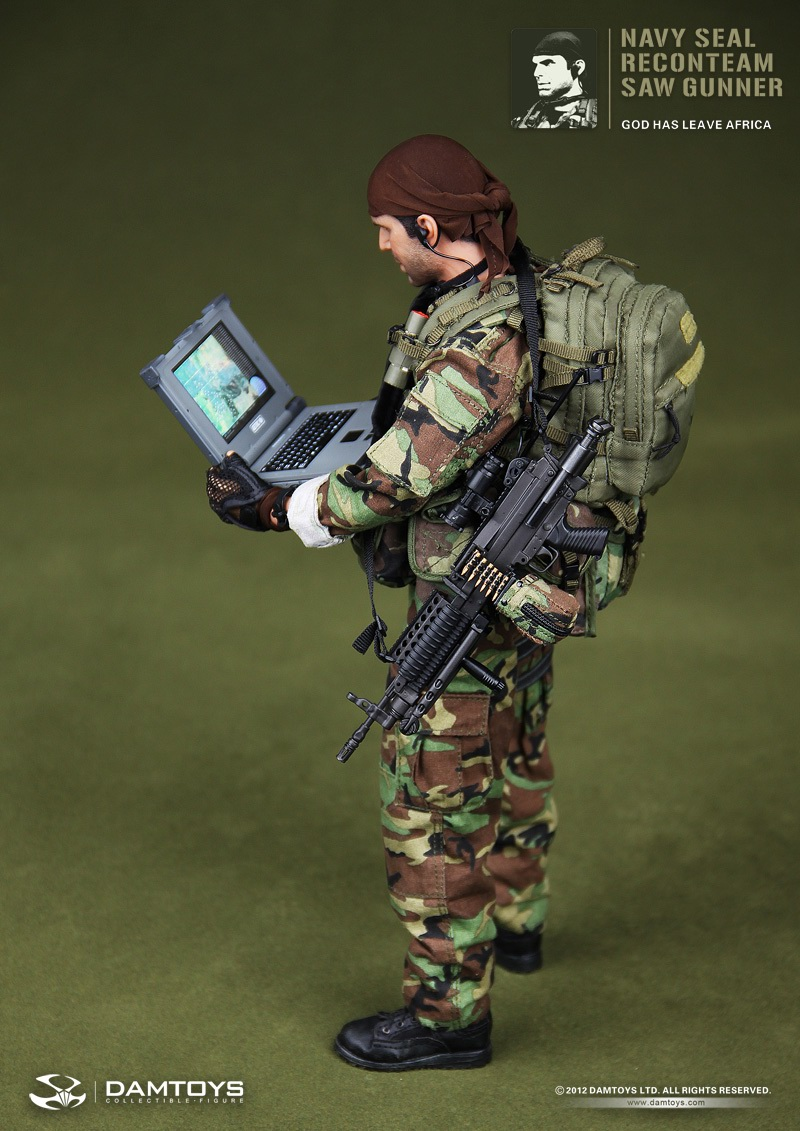 Toys For Seals : Toyhaven preview dam toys scale us navy seal recon