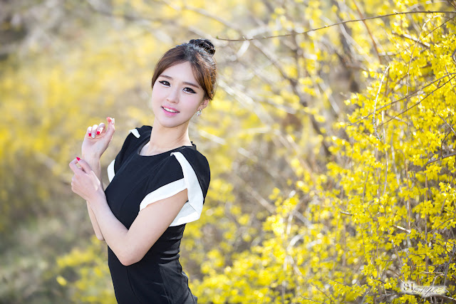 1 Choi Byeol Ha Outdoor  - very cute asian girl - girlcute4u.blogspot.com