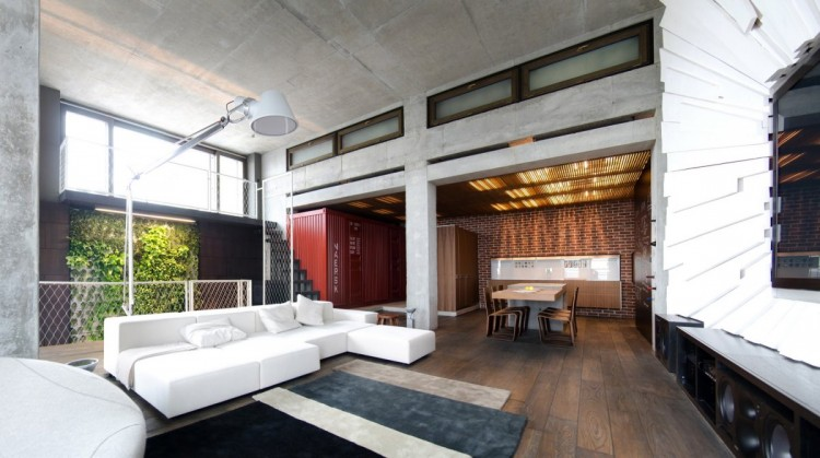Loft Apartment Interior Design