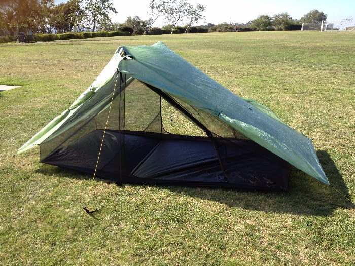 SMD Cuben Haven Tarp and Inner Net Tent. A two person shelter with two doors and two vestibules. & Sea to Summit Ultralight: Six Moon Designs Cuben Haven Tarp and ...
