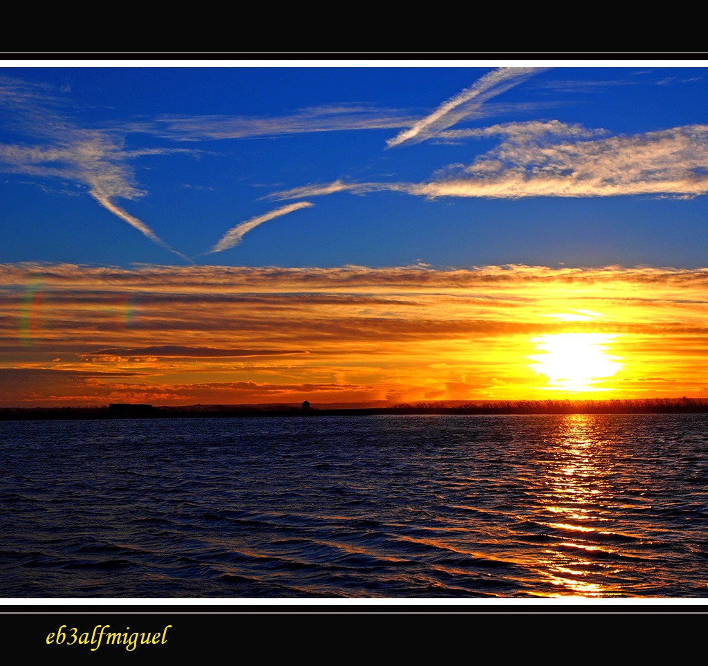 Miguel fotografia puesta de sol de una tarde ventosa for Puesta de sol