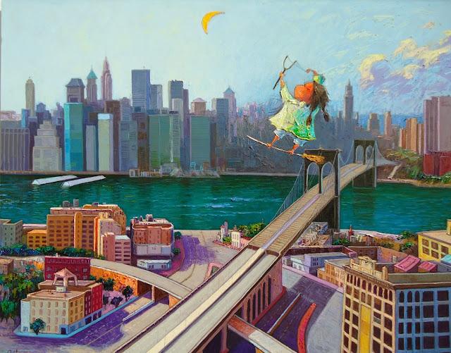 Brujita en Nueva York by Silvio Avila
