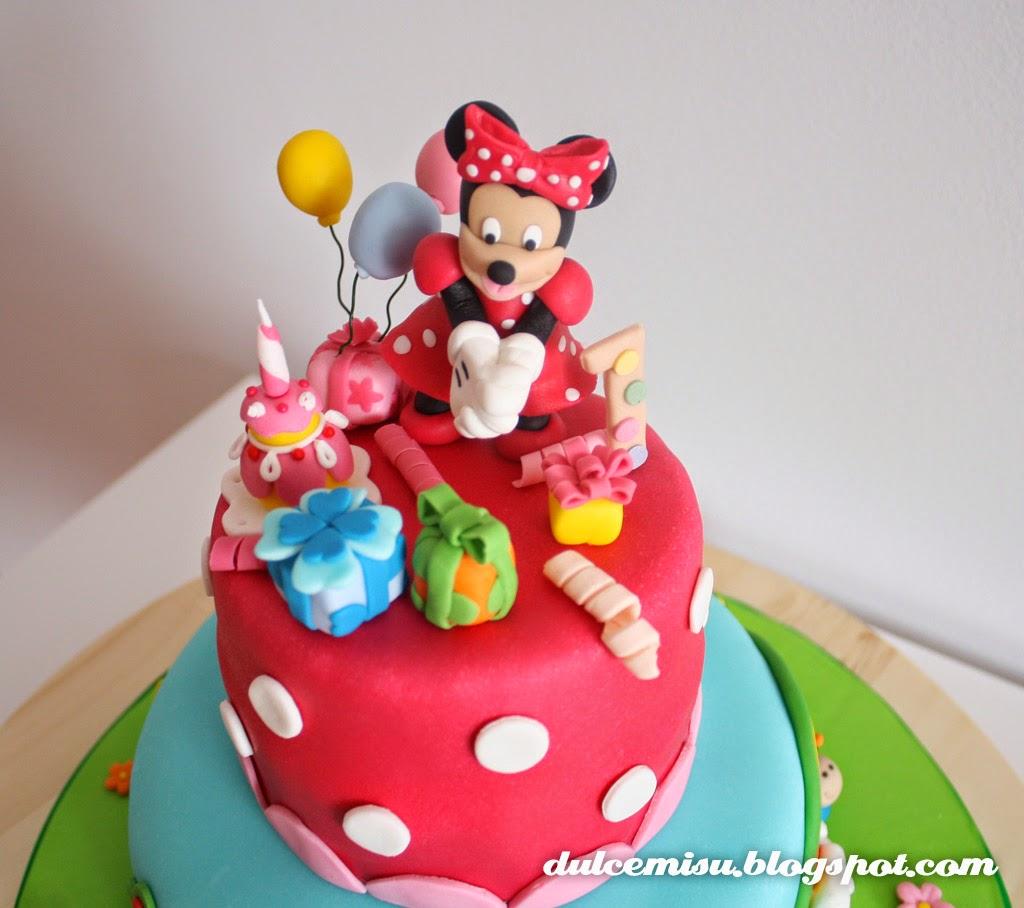 minie Dulcemisu reposteria creativa, tarta, fondant, Minnie, globos