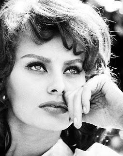 El rostro de Sophia Loren