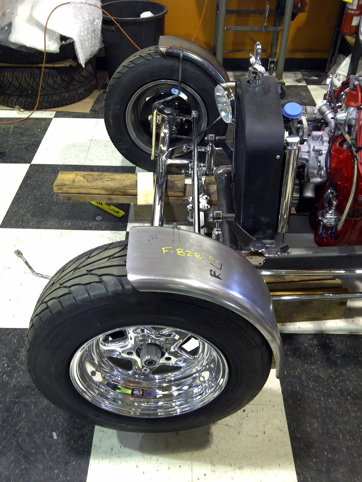 T Bucket Front Fenders : Cap it ford t bucket hot rod update feb