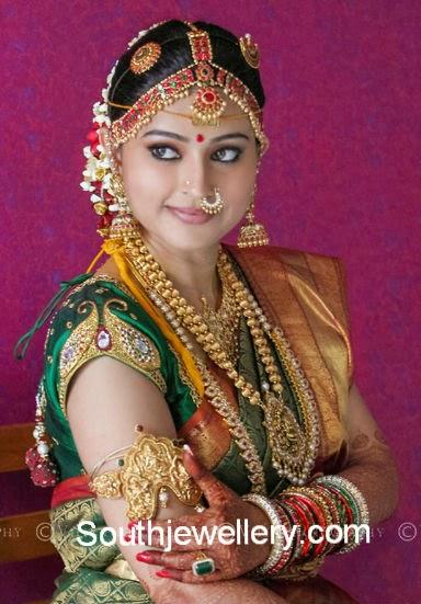 Actress Snehas Complete Wedding Jewellery Jewellery Designs