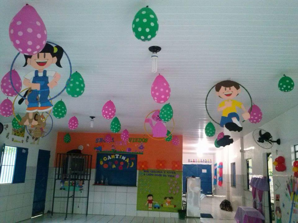 decoracao sala de leitura na escola:Decoração Galinha Pintadinha Chaves Corujas e Carnaval para Sala de