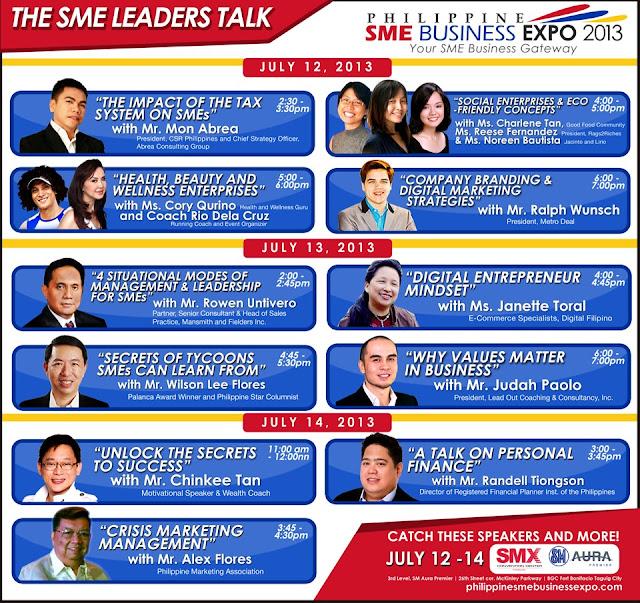 {PRESS RELEASE} PHIL SME EXPO PRESENTS SME LEADERS TALK