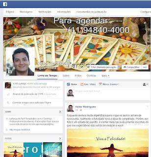 FanPage Victor Manolo - Tarólogo